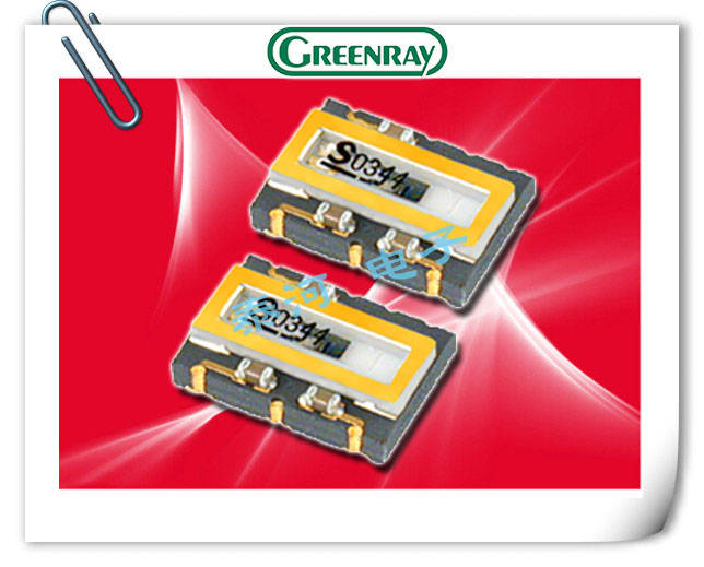 Greenray晶振,有源晶振,T75晶振,T70晶振
