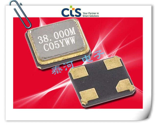 CTS晶振,石英晶体,405晶振,405C35B16M00000晶振