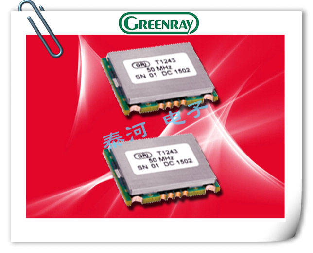 Greenray晶振,有源晶振,T90/91晶振