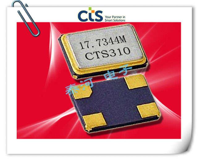 CTS晶振,406晶振,石英晶体谐振器,406I35E12M00000晶振