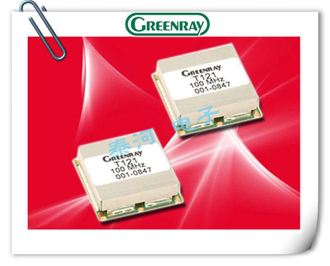 Greenray晶振,贴片有源晶振,T121晶振