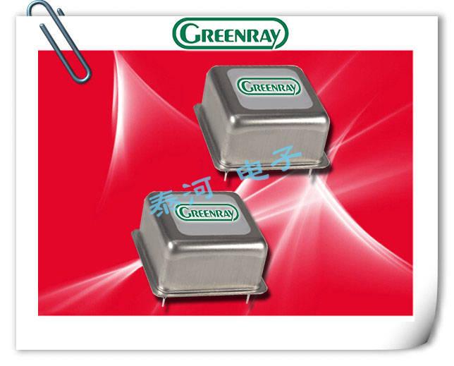 Greenray晶振,插件温补晶振,T1170/1171晶振