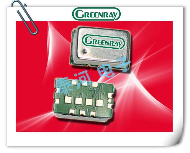 Greenray晶振,TCXO晶振,T1185晶振