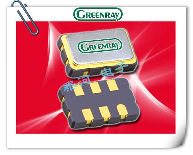Greenray晶振,温度补偿晶振,T1215晶振