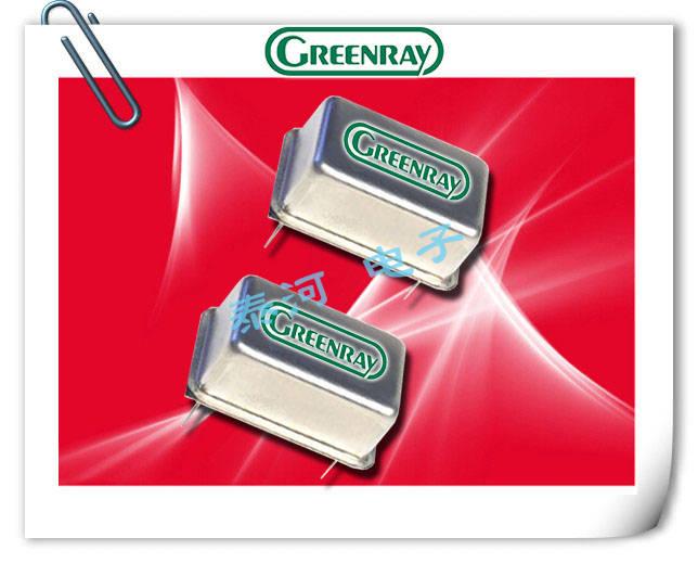 Greenray晶振,长方型钟振,T1220晶振