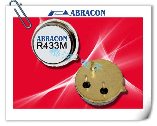 ABRACON晶振,声表面谐振器,ASR314.5晶振,3脚插件谐振器