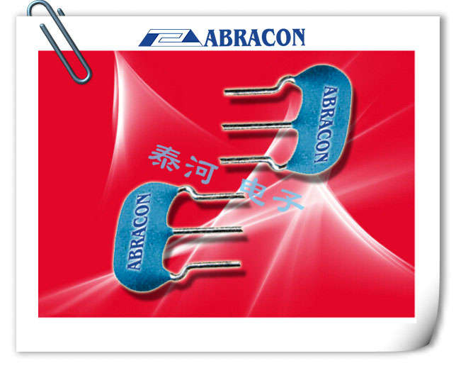 ABRACON晶振,陶瓷谐振器,AWCR-RS晶振,三脚陶瓷晶振