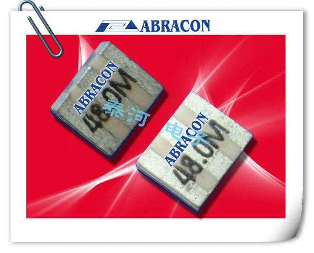 ABRACON晶振,陶瓷谐振器,AWSCR-CW晶振,手机贴片陶振