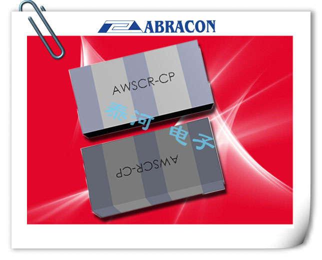 ABRACON晶振,陶瓷谐振器,AWSCR-CP SERIES晶振,遥控器用陶瓷晶振