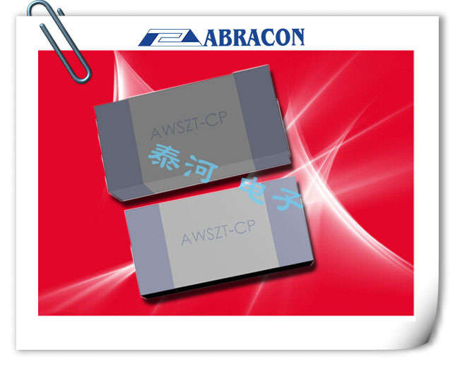 ABRACON晶振,陶瓷谐振器,AWSZT-CP SERIES晶振,工业级陶瓷谐振器