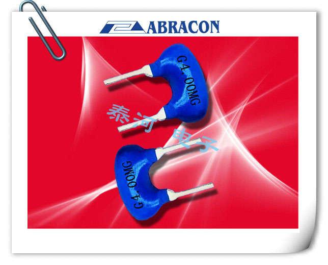 ABRACON晶振,陶瓷谐振器,HWZT-MD晶振,蓝色两脚陶瓷晶振