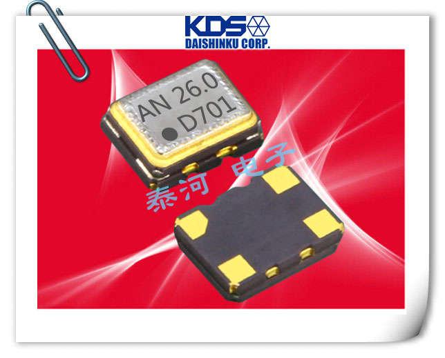 KDS晶振,石英晶振,贴片晶振,DSB221SDN晶振