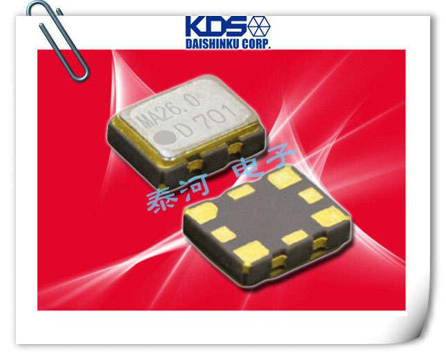 KDS晶振,贴片晶振,DSB222MAB晶振,温度传感器输出晶振