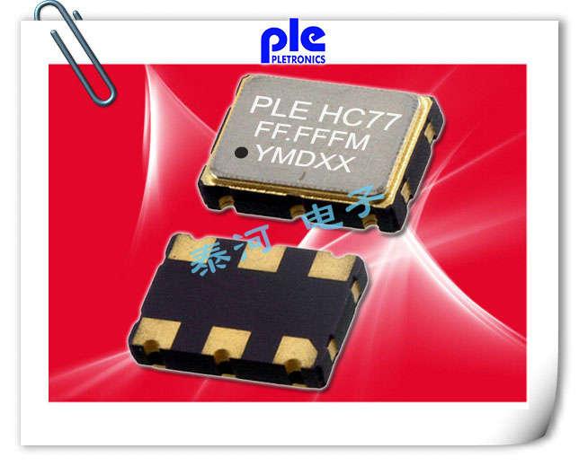 PLETRONICS晶振,贴片晶振,VHD6晶振,压电控制型差分晶振