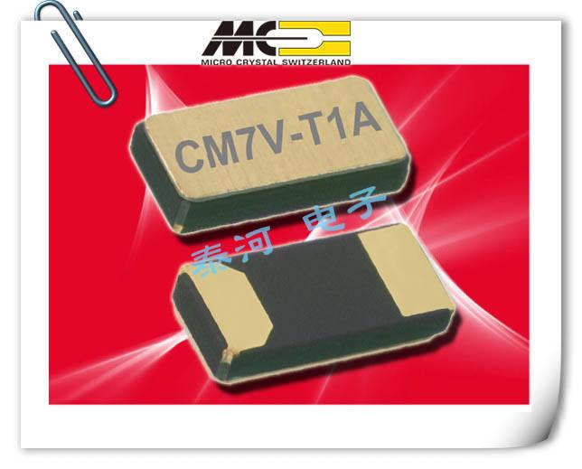 微晶晶振,贴片晶振,CM9V-T1A晶振,1610千赫晶振