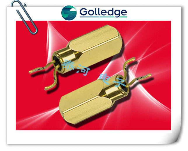 Golledge晶振,石英晶振,MS3V晶振,弯脚音叉晶体