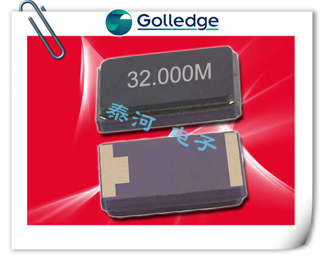 Golledge晶振,贴片晶振,CC1A晶振,8038陶瓷面两脚晶振