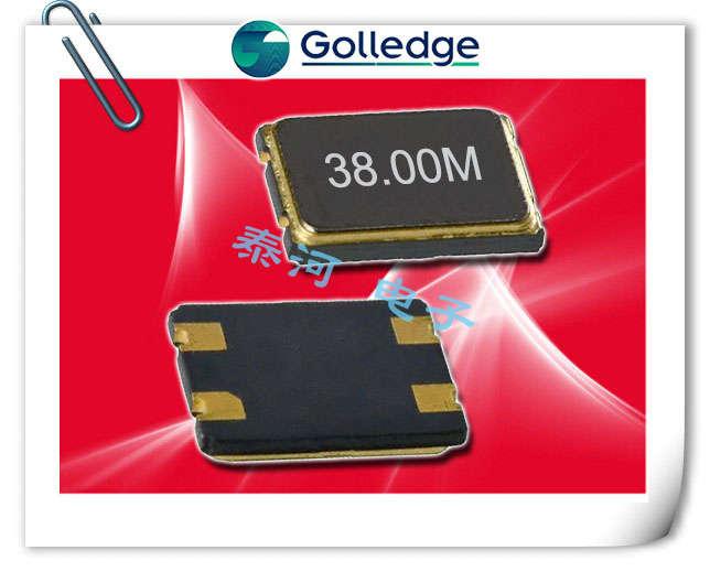 Golledge晶振,贴片晶振,GHTXO晶振,耐高温32.768K晶振