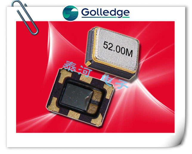 Golledge晶振,贴片晶振,GTXO-203T晶振,GTXO-203V晶振