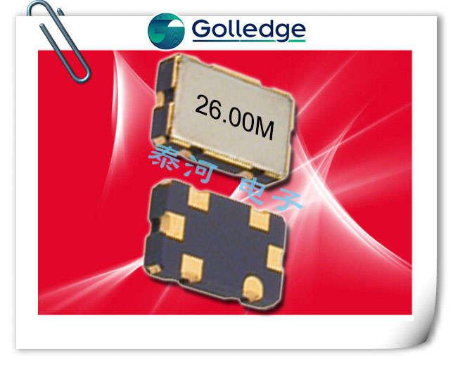 Golledge晶振,贴片晶振,GVXO-513晶振,5032压控晶振