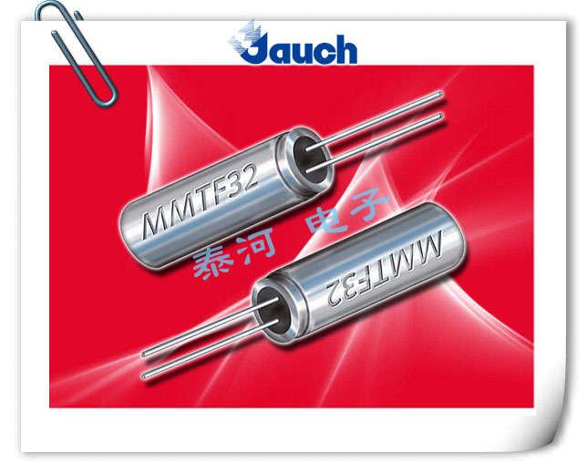 JAUCH晶振,石英晶振,MMTF32晶振,2x6圆柱晶体