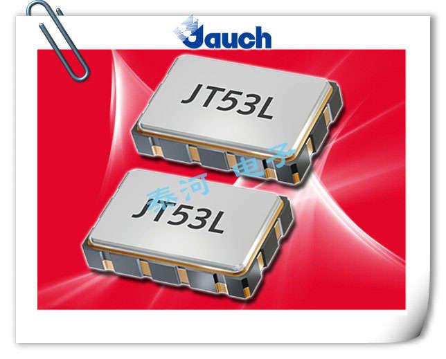 JAUCH晶振,贴片晶振,JT53LV晶振,高精准VC-TCXO晶振