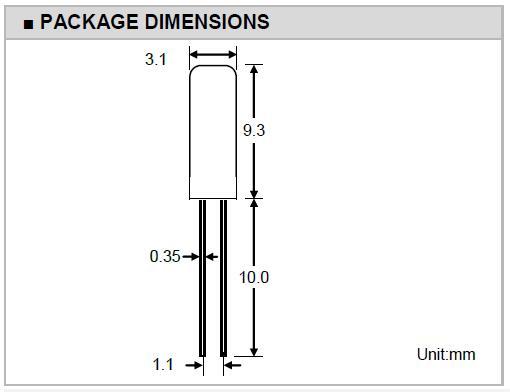 Transko晶振,石英晶振,3X9晶振,MHZ圆柱晶体