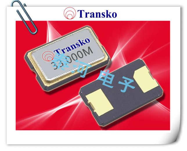 Transko晶振,贴片晶振,CS63B晶振,两脚金属面6035晶振