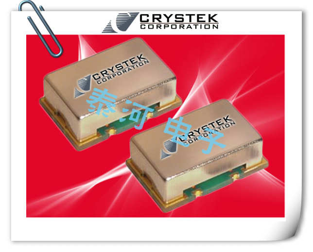 CRYSTEK晶振,贴片晶振,CVCSO-914-1000晶振,低抖动电压控制声表面波振荡器