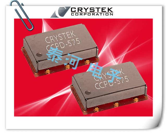 CRYSTEK晶振,贴片晶振,CVS575晶振,LVPECL压控晶振