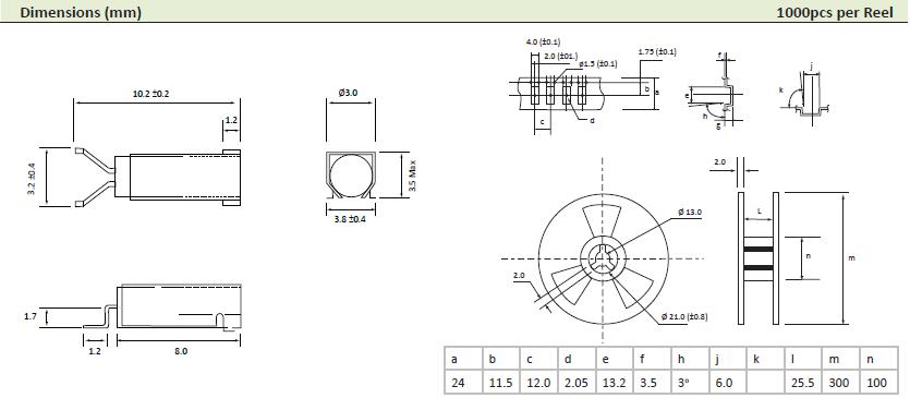 AEL晶振,贴片晶振,PMX-308FA晶振,弯脚音叉晶振