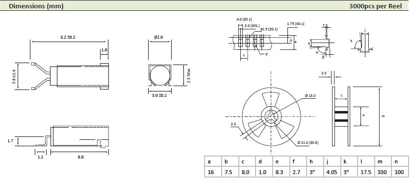 AEL晶振,贴片晶振,PMX-206FA晶振,弯脚32.768K表晶