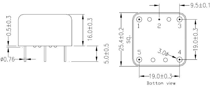 MERCURY晶振,石英晶振,OC11E晶振,HCMOS输出插件晶振