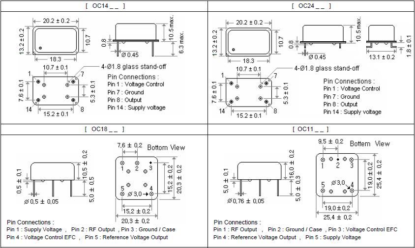 MERCURY晶振,石英晶振,OC18T晶振,OC18E晶振
