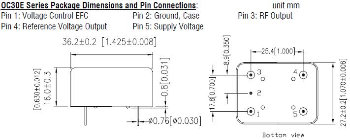 MERCURY晶振,石英晶振,OC30E晶振,恒温晶体振荡器
