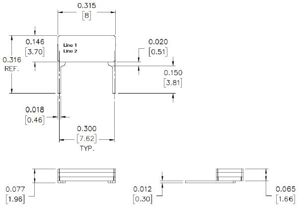 MTRONPTI晶振,石英晶振,M1380晶振,8038直插晶振