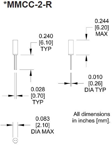 MTRONPTI晶振,石英晶振,MMCC-2晶振,32.768KHZ晶体