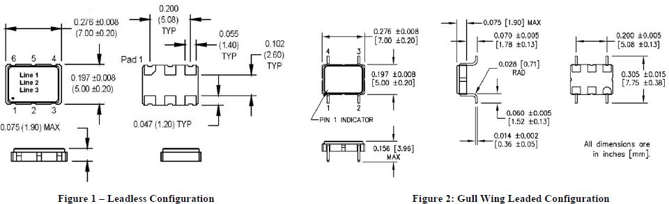 MTRONPTI晶振,贴片晶振,HPO晶振,含铅石英晶体振荡器