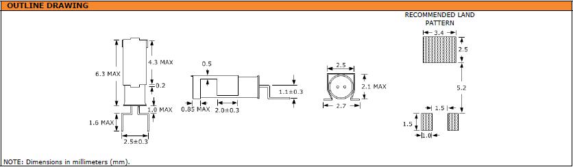 Suntsu晶振,石英晶振,SWG6J2晶振,实时时钟用弯脚晶体