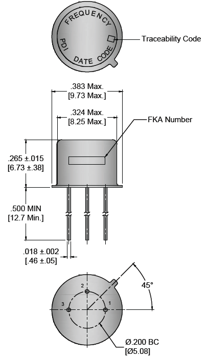 Wi2wi晶振,石英晶振,TC晶振,冷焊接密封石英晶体
