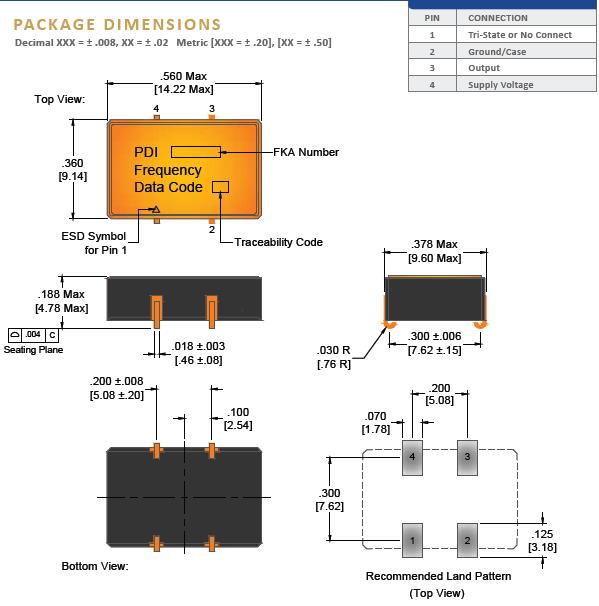 Wi2wi晶振,贴片晶振,JL9晶振,14.22x9.14振荡器