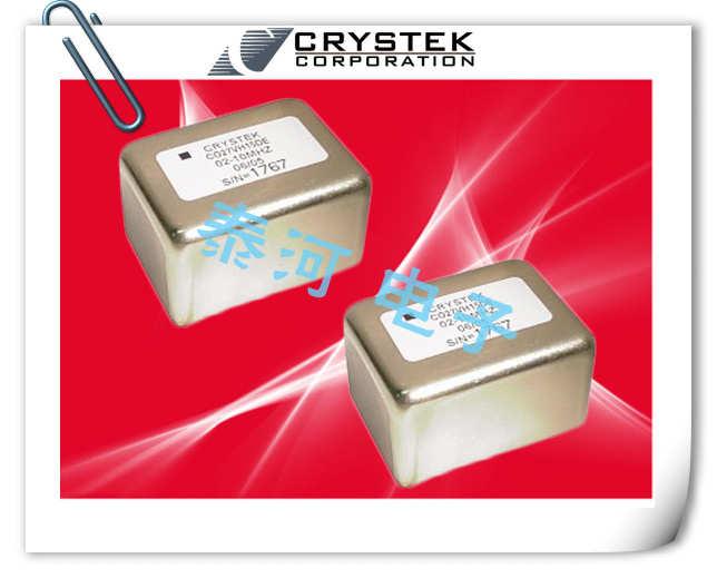 CRYSTEK晶振,石英晶振,CO27VH15DE-02-10.000晶振,射频源用恒温晶体振荡器