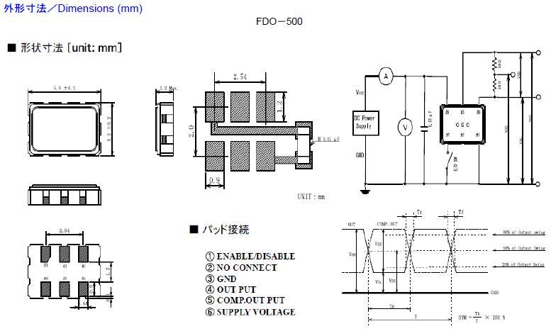 Fujicom晶振,贴片晶振,FDO-536晶振,FDO-526晶振