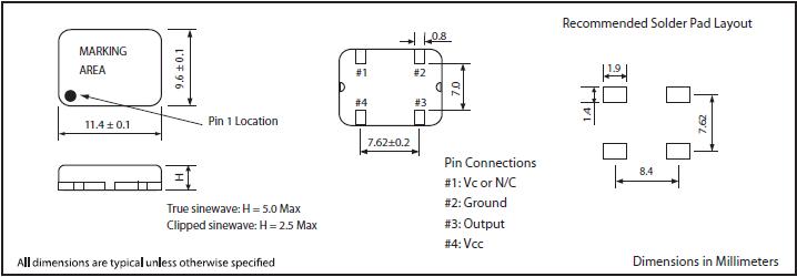 MTI-MILLIREN晶振,贴片晶振,403晶振,大体积低频有源晶振