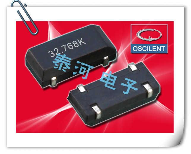 OSCILENT晶振,贴片晶振,223晶振,大体积低频千赫压电晶体