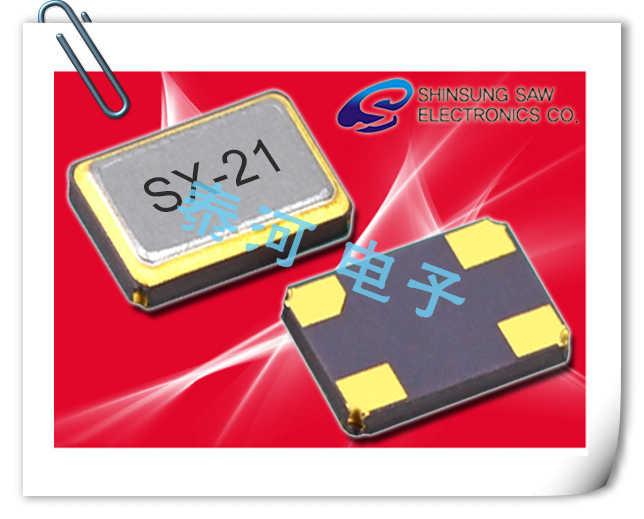 Shinsung晶振,贴片晶振,SX-21晶振,蜂窝电话基站晶体谐振器
