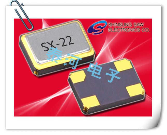 Shinsung晶振,贴片晶振,SX-22晶振,微处理器时钟晶体