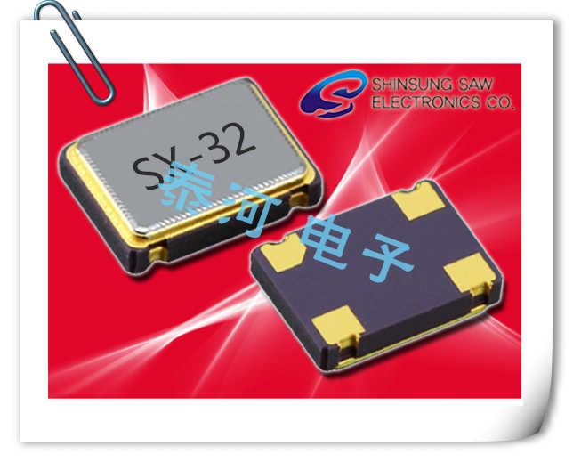 Shinsung晶振,贴片晶振,SX-SS晶振,4脚AT切型5032晶振