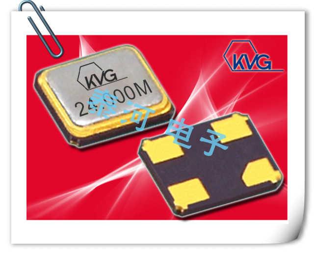 KVG晶振,贴片晶振,XMP-9100晶振,4025无源谐振器