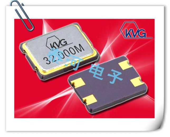 KVG晶振,贴片晶振,XMP-5100晶振,超低老化7050晶振